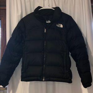 North Face 700 Black Puffer